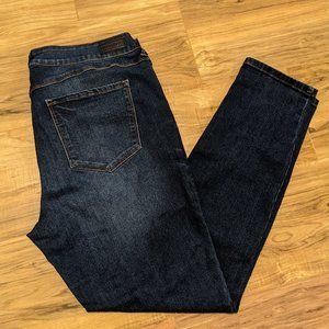Medium Dark wash Skinny Jeans